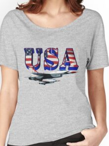 US Air Force Thunderbirds Women's Relaxed Fit T-Shirt