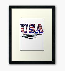 US Air Force Thunderbirds Framed Print