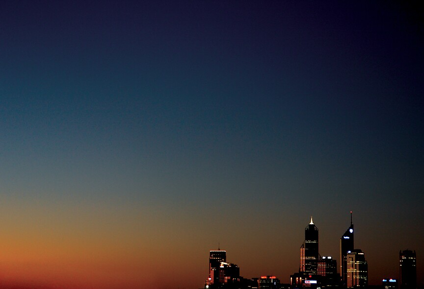 PERTH CITY SKYLINE by ARPhotography