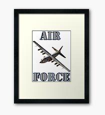Air Force C-130 Framed Print