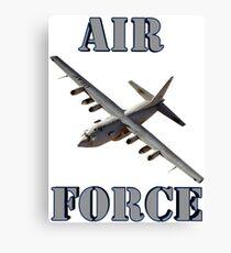Air Force C-130 Canvas Print