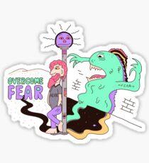 Overcome Fear Sticker