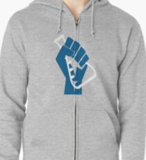 Stand with Science! Zipped Hoodie