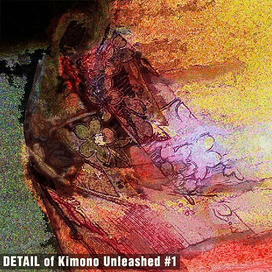 Kimono Unleashed #1 (DETAIL) by Michael Critchley