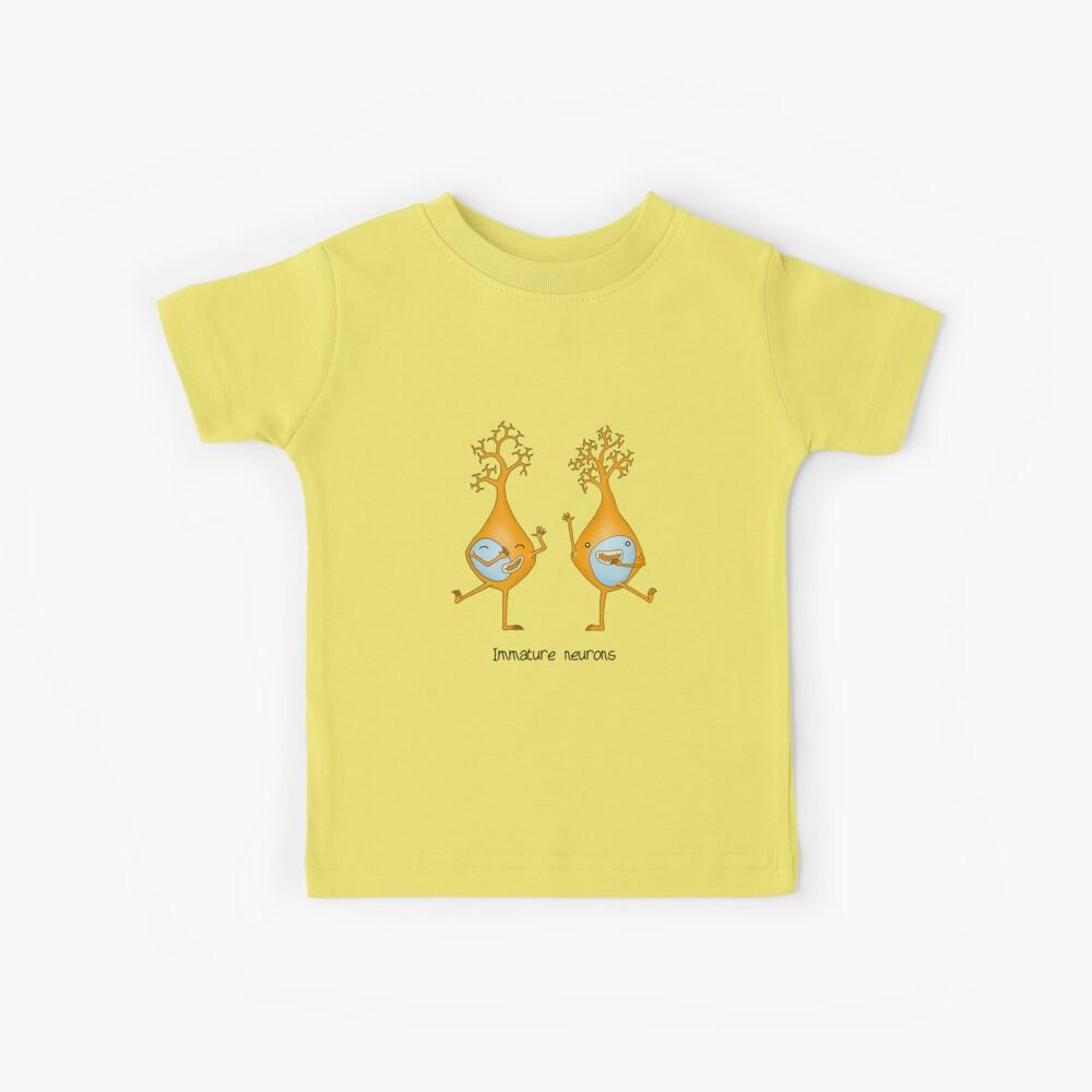 Immature Neurons Kids T-Shirt