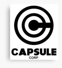 capsule corp black  Canvas Print