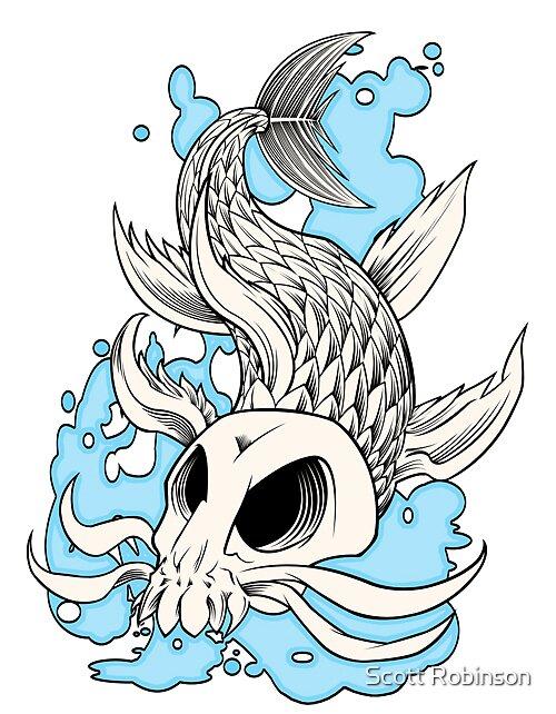 Skull Khoi by Scott Robinson