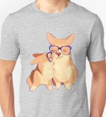 Corgi smooch Unisex T-Shirt