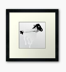 H.P. - Horse Power Framed Print