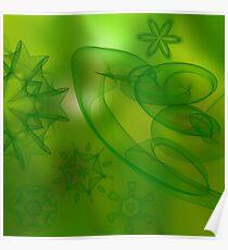 digital green scene  Poster