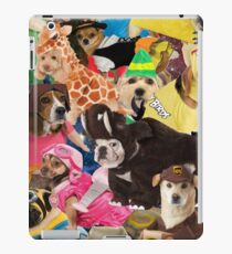 Miserable Dogs in Horrible Costumes iPad Case/Skin