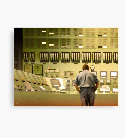 Inside Sector 7G Canvas Print