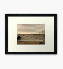 Tunnel Framed Print