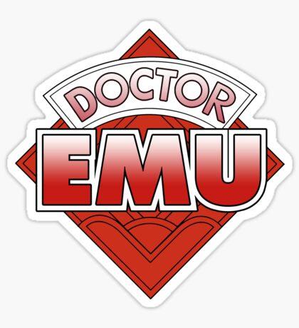 Doctor Emu Sticker