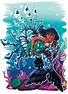 Mermaids and Fish by Lacey  Ewald
