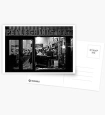Nighthawks at the diner Postcards