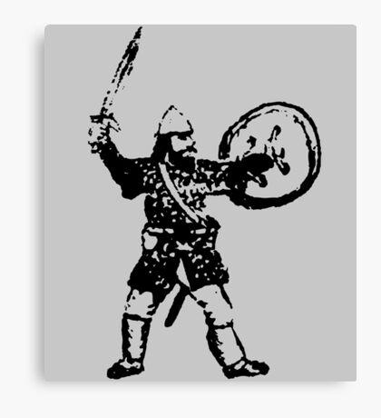 RPG Dwarf Attack Canvas Print