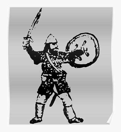 RPG Dwarf Attack Poster
