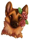 Flower Child GSD by Lacey  Ewald