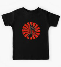 Red Hot Semiquaver -  16th Note Music Symbol Kids Tee