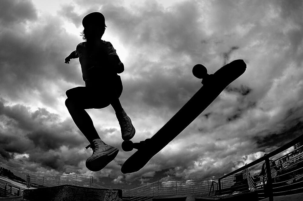 Skate board by Alex Lau