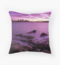 Mosman Seascape Throw Pillow
