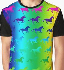 Einhorn / Regenbogen Graphic T-Shirt