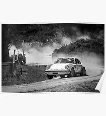Porsche Rally Car Poster