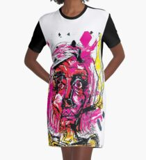 Pink item No. 1 Graphic T-Shirt Dress