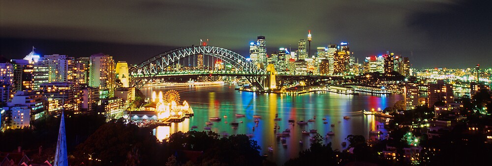 Jewel of Sydney Harbour by Alex Lau