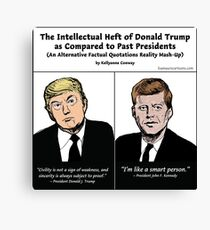 Trump Quote Mash-Up Canvas Print