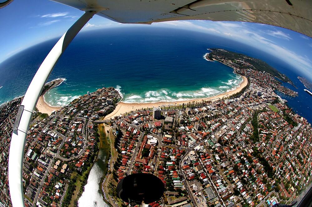 Above Sydney by Alex Lau