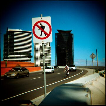 No Pedestrians by Cameron
