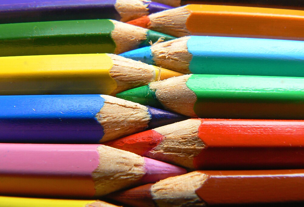 Coloured Pencils by Ian Jones
