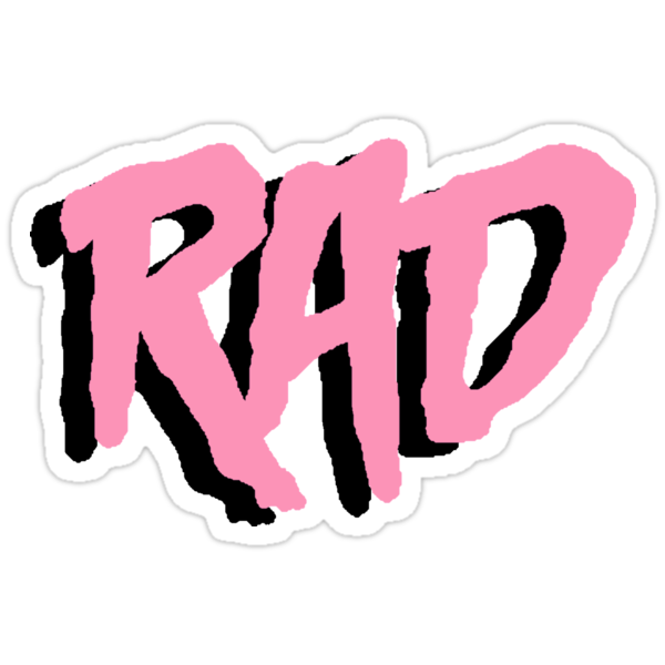 Rad stickers by harajokeu redbubble for Redbubble t shirts review