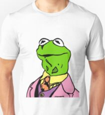 Kermit the Frog Colour/Color Portrait JTownsend Unisex T-Shirt