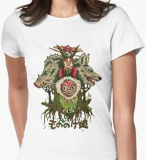 Mononoke Womens Fitted T-Shirt