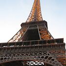 Eiffel Tower at dusk by BrAnKSTER
