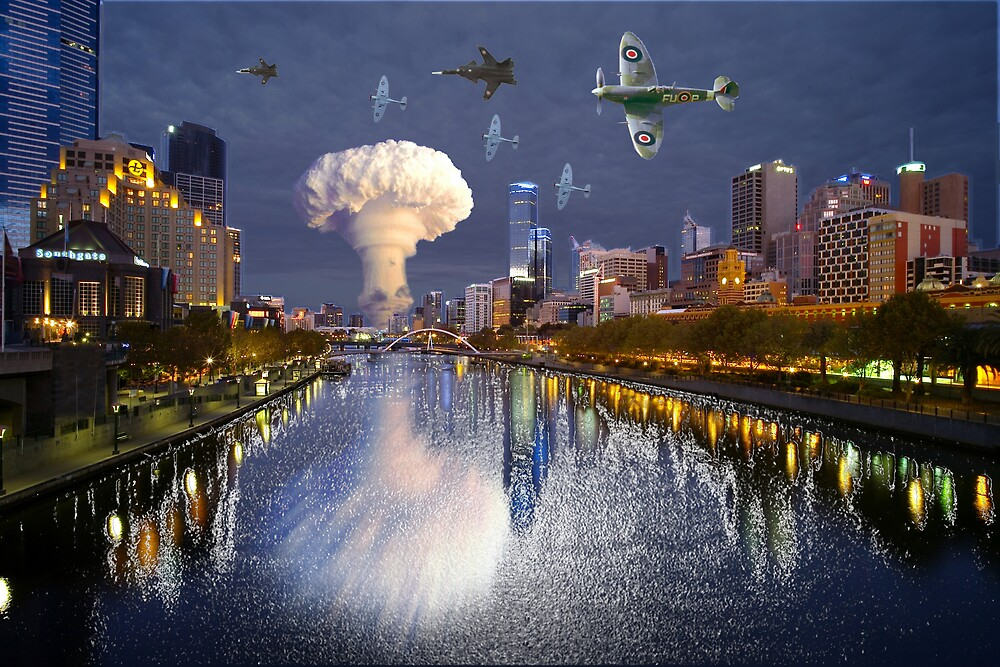 Melbourne under attack by ADCRUSHER