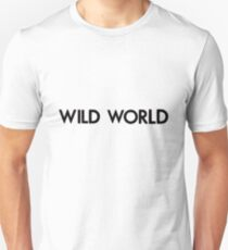 Wild world, black T-Shirt