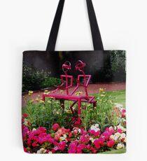 A garden in Strathaven, Scotland Tote Bag