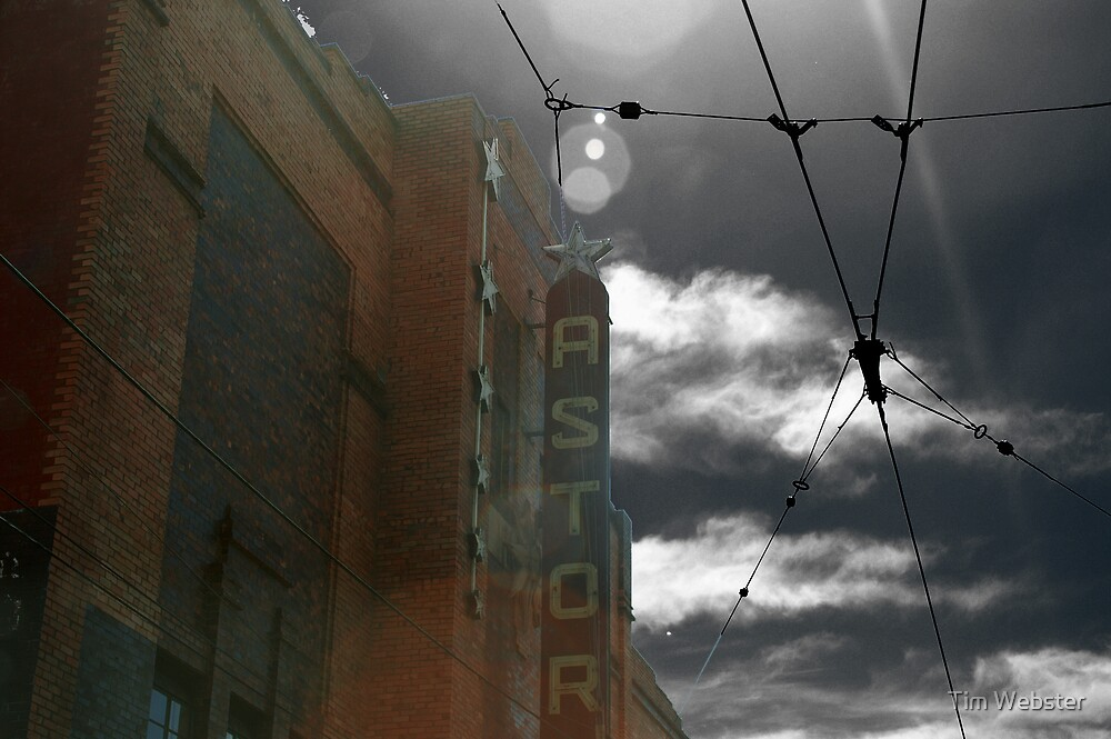 The Astor Theatre by Tim Webster