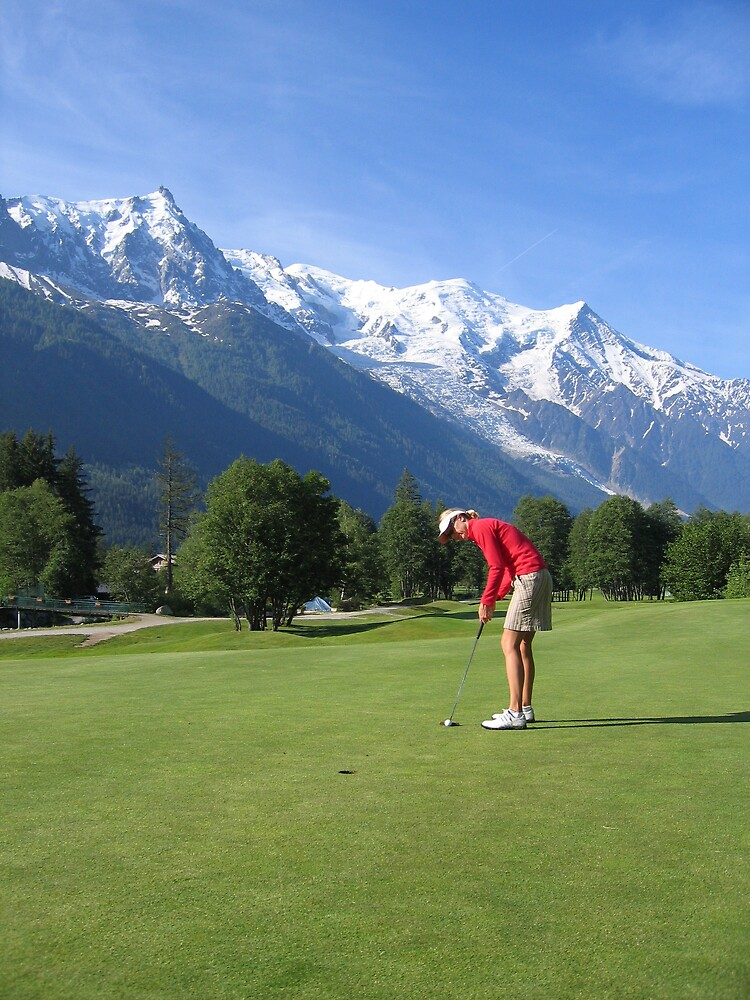 Golf in The mountains by Panther