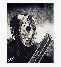 Jason Horror Movie Slasher Photographic Print