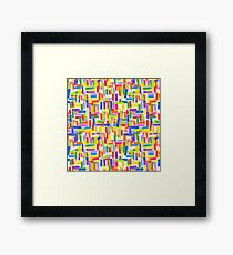 Colored pencil  Framed Print