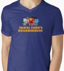 Daniel Tiger and Friends Men's V-Neck T-Shirt