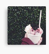 Berry Ice Cream Canvas Print