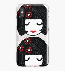 Cherry Blossom Sisters  iPhone Case/Skin