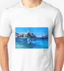 Malcesine with Castello Scaligero Unisex T-Shirt