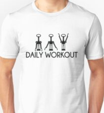 Daily Workout - Corkscrew  Unisex T-Shirt